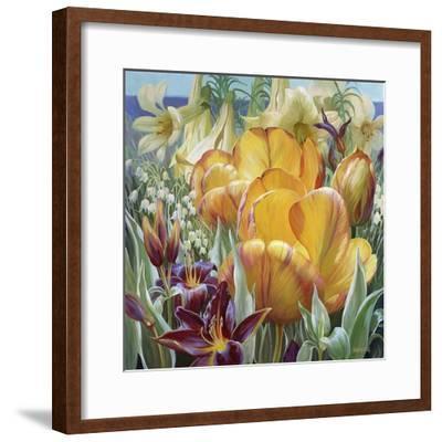 Palisade Garden-Elizabeth Horning-Framed Premium Giclee Print