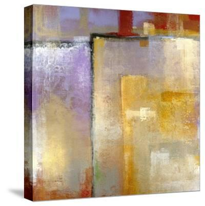 Questions of Red and Blue-Maeve Harris-Stretched Canvas Print