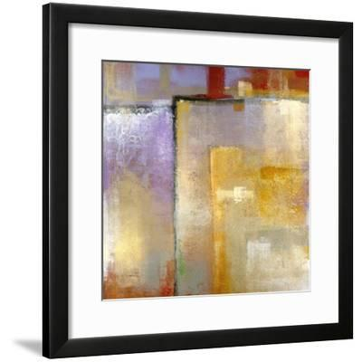 Questions of Red and Blue-Maeve Harris-Framed Premium Giclee Print