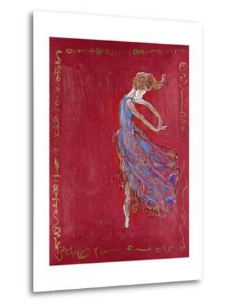 Dancer in Blue IV-Marta Wiley-Metal Print
