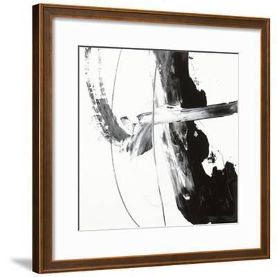 Black and White H-Franka Palek-Framed Premium Giclee Print