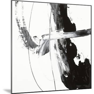 Black and White H-Franka Palek-Mounted Premium Giclee Print