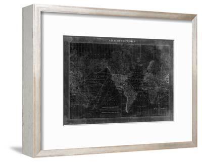 Atlas of the World--Framed Premium Giclee Print