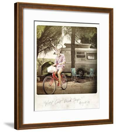 West Coast Road Trip--Framed Premium Giclee Print