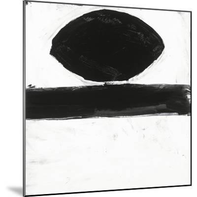 Black and White O-Franka Palek-Mounted Premium Giclee Print