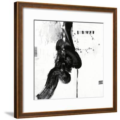 Black and White P-Franka Palek-Framed Premium Giclee Print