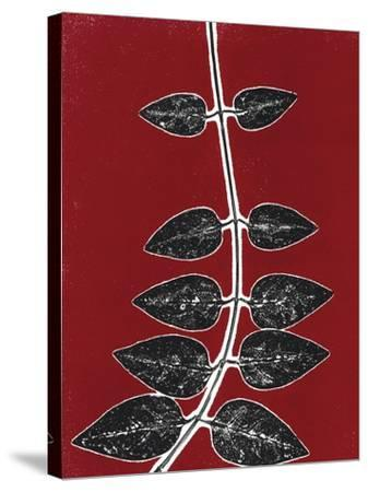 Red 9-Mary Margaret Briggs-Stretched Canvas Print