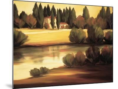 Country Reflections-Tim Howe-Mounted Premium Giclee Print