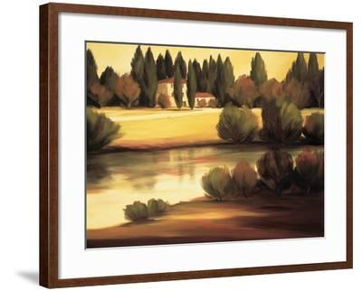 Country Reflections-Tim Howe-Framed Premium Giclee Print