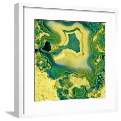 Mineral Rings Geode-GI ArtLab-Framed Premium Photographic Print