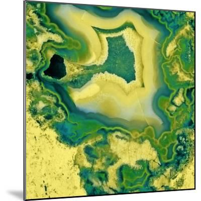 Mineral Rings Geode-GI ArtLab-Mounted Premium Photographic Print