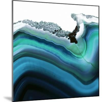 Turquoise Agate A--Mounted Premium Photographic Print