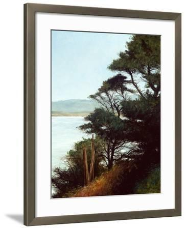 Carmel Bay-Miguel Dominguez-Framed Premium Giclee Print