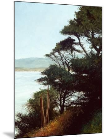 Carmel Bay-Miguel Dominguez-Mounted Premium Giclee Print