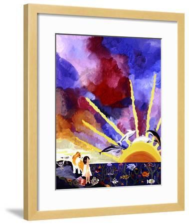 For Dreams Alone-Kristin Nelson-Framed Premium Giclee Print