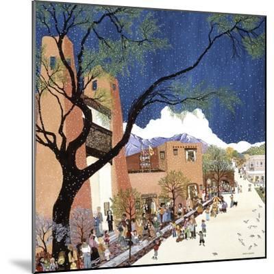 Santa Fe Smiling-Kristin Nelson-Mounted Premium Giclee Print
