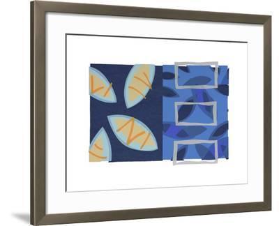 Orange Fish-Lee Crew-Framed Premium Giclee Print