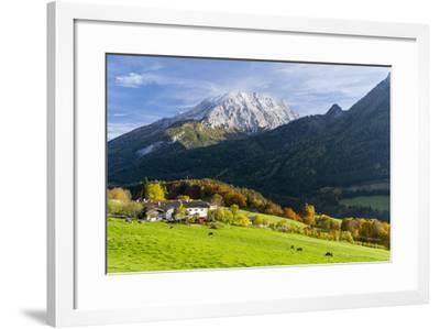 Landscape in Berchtesgadener Land, Bavaria, Germany.-Martin Zwick-Framed Photographic Print
