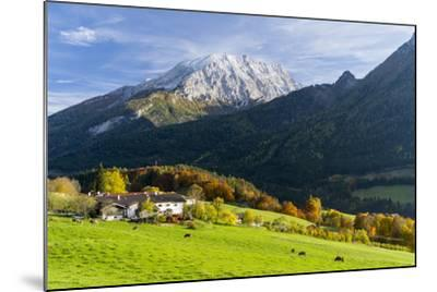 Landscape in Berchtesgadener Land, Bavaria, Germany.-Martin Zwick-Mounted Photographic Print