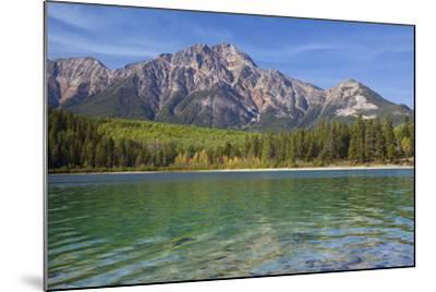 Patricia Lake and Pyramid Mountain, Jasper NP, Alberta, Canada.-Don Paulson-Mounted Photographic Print