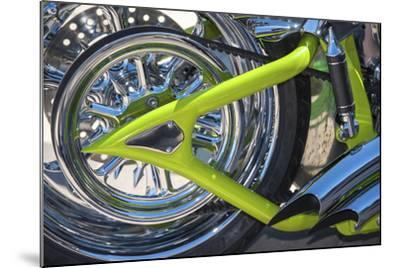 USA, Florida, Daytona Beach, customized bike, bike week.-Jim Engelbrecht-Mounted Photographic Print