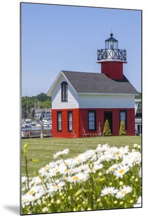 Old Lighthouse, on Lake Kalamazoo, Saugatuck, West Michigan, USA-Randa Bishop-Mounted Photographic Print