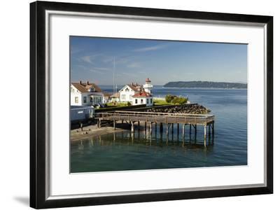 Mukilteo Lighthouse, Mukilteo, Washington, USA-Michele Benoy Westmorland-Framed Photographic Print