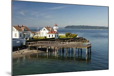 Mukilteo Lighthouse, Mukilteo, Washington, USA-Michele Benoy Westmorland-Mounted Photographic Print