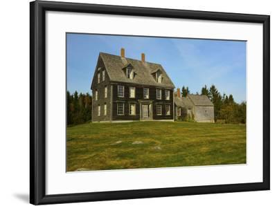 Olson House, Cushing, Maine, USA-Michel Hersen-Framed Photographic Print