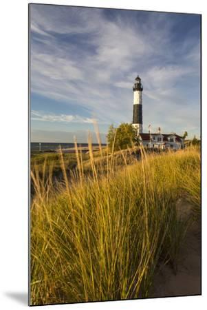 Big Sable Point Lighthouse on Lake Michigan, Ludington SP, Michigan-Chuck Haney-Mounted Photographic Print