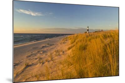 Big Sable Point Lighthouse on Lake Michigan, Ludington SP, Michigan-Chuck Haney-Mounted Premium Photographic Print