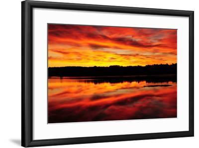 Sunset-Michel Hersen-Framed Photographic Print