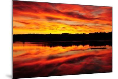 Sunset-Michel Hersen-Mounted Photographic Print