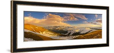 USA, Colorado, Rocky Mountain NP. Overlook from Trail Ridge Road.-Fred Lord-Framed Photographic Print