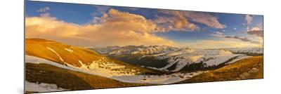 USA, Colorado, Rocky Mountain NP. Overlook from Trail Ridge Road.-Fred Lord-Mounted Photographic Print