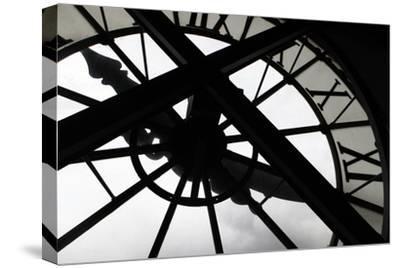 Clock at Musee D'Orsay, Paris, France-Kymri Wilt-Stretched Canvas Print