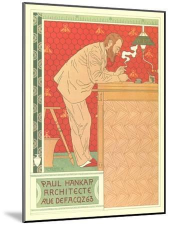Paul Hankar, Architect--Mounted Art Print