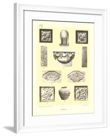 Hairon Decor Elements--Framed Art Print