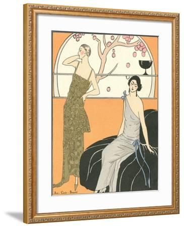 AGB Fashion Illustration--Framed Art Print