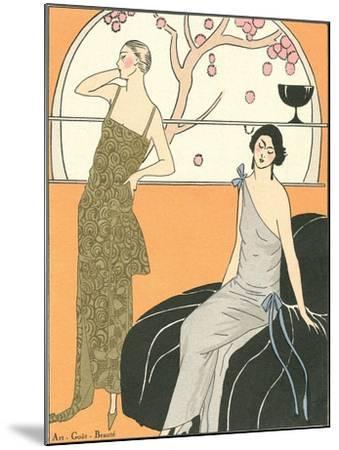 AGB Fashion Illustration--Mounted Art Print