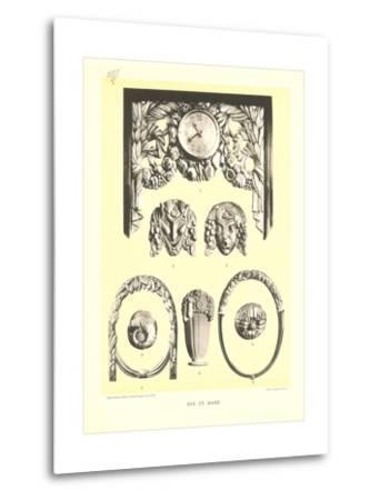 Sue Et Mare Decorative Elements--Metal Print