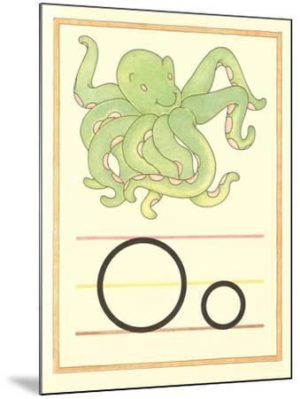 O Is for Octopus--Mounted Art Print