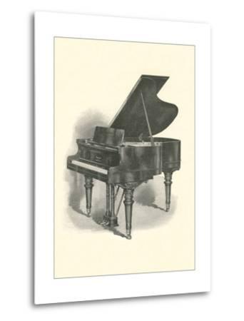 Grand Piano--Metal Print