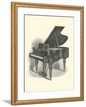 Grand Piano--Framed Art Print