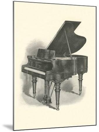 Grand Piano--Mounted Art Print