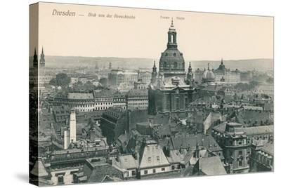 Overview of Old Dresden, Germany--Stretched Canvas Print