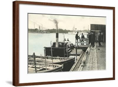 Refshaleoen, Copenhagen Harbor, Denmark--Framed Art Print