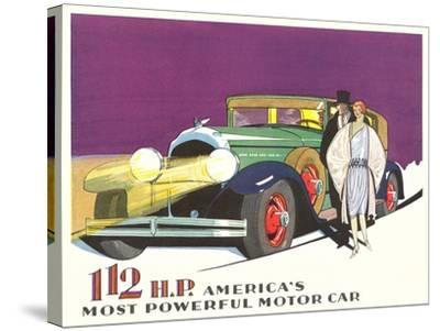 Most Powerful Motor Car--Stretched Canvas Print