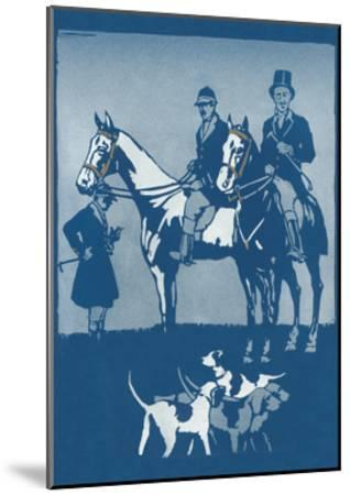 Riding to Hounds Poster--Mounted Art Print
