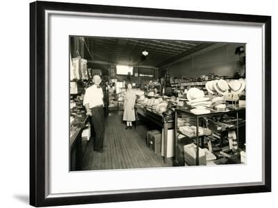 Haberdashery--Framed Art Print